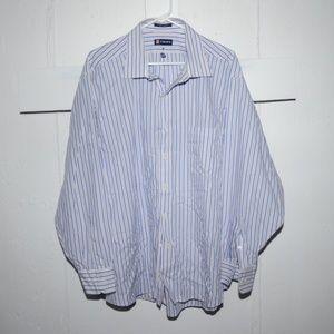 Chaps mens dress shirt size 18 18 1/2 J83